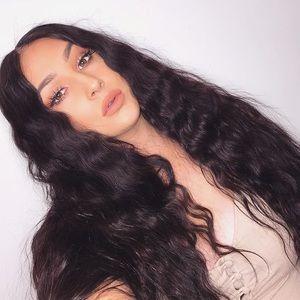Virgin lace closure 30 inch wig